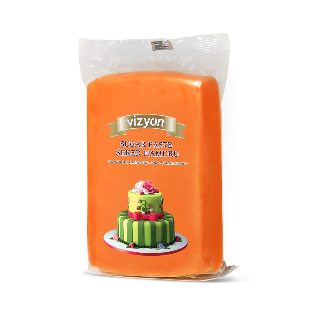 Orange Vizyon Fondant