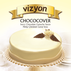 Ivory Couverture Chocolate Ganache Sauce