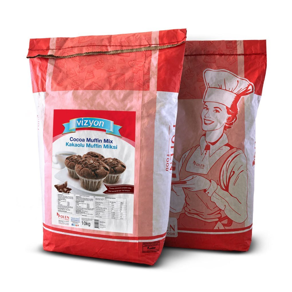 Cocoa muffin mix 10kg