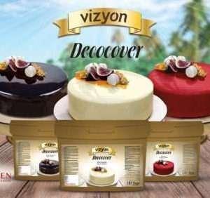 Decocover Premium glaze Ganache Sauce