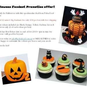 Vizyon fondant Halloween Box set