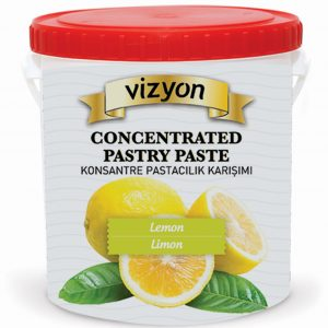 lemon concentrated pastry paste