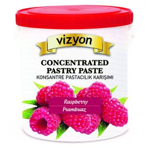 raspberry concentrated pastry paste