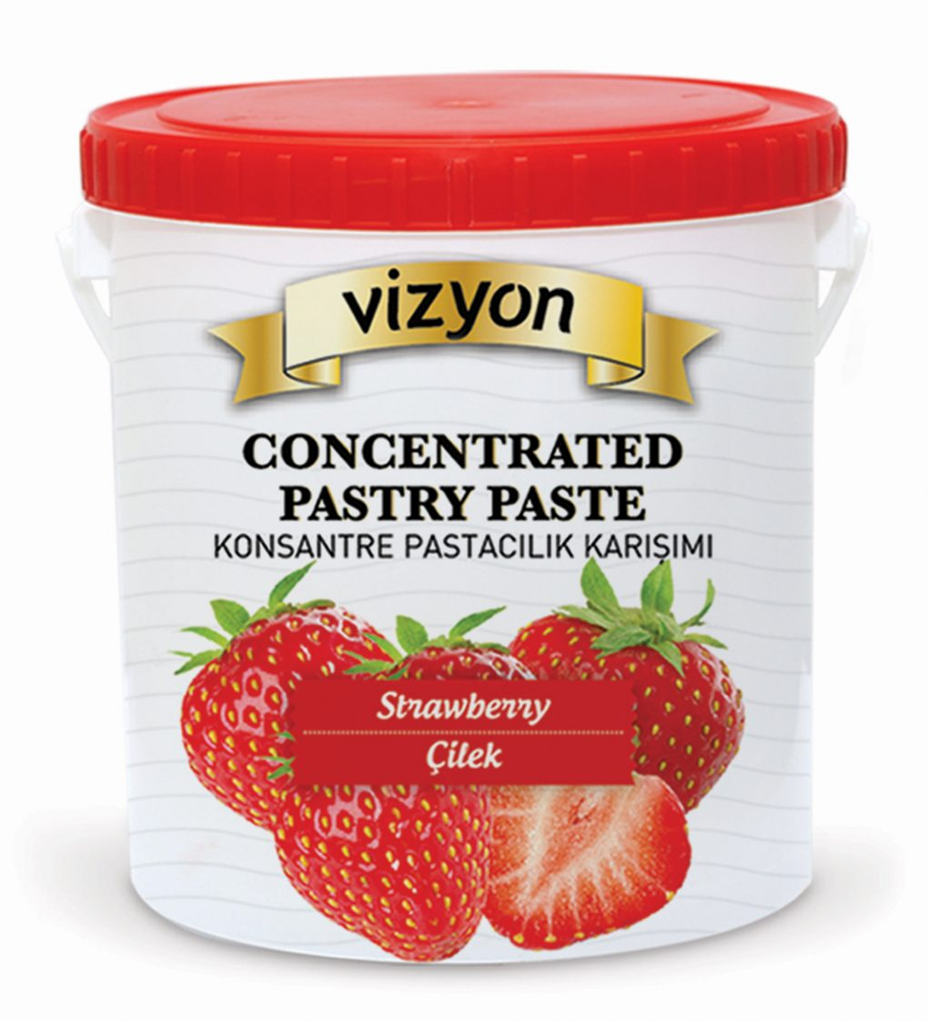 strawberry concentrated pastry paste_1