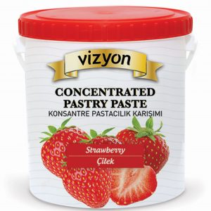 strawberry concentrated pastry paste