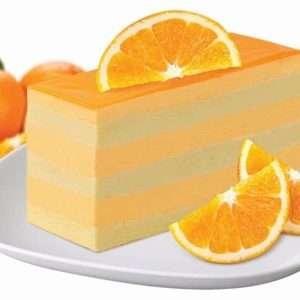 Orange Charlotte Mousse