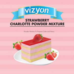 Strawberry Charlotte Mousse