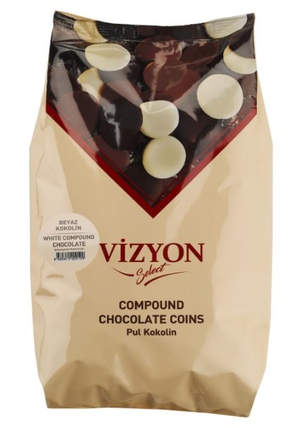 White Chocolate Compound Coins