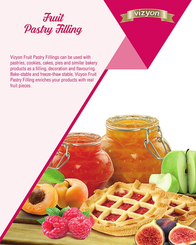Fruit Pastry Filling product flyer