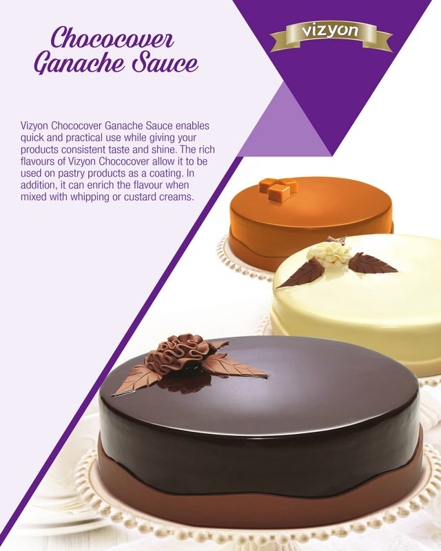 Ganache Chococover product flyer
