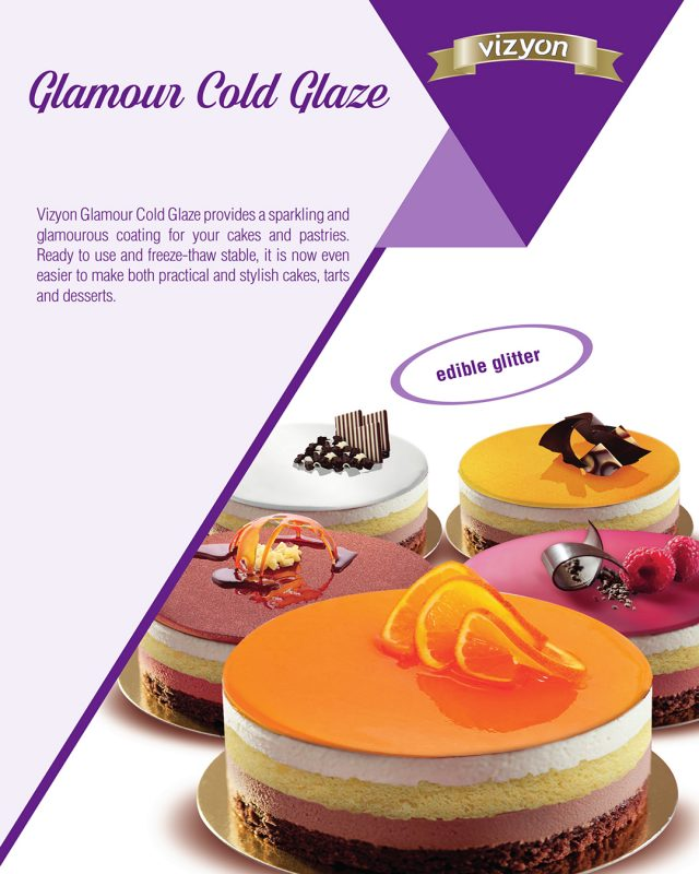 Cold Glaze Glamour product flyer